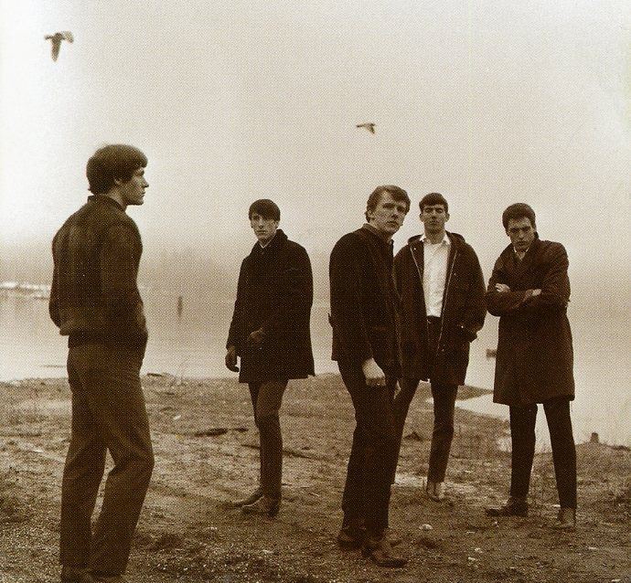 The Sonics, outtake from this photoshoot by Jini Dellaccio, 1965