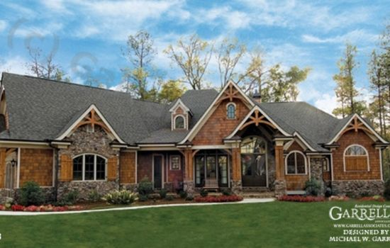 Luxury Rustic Mountain European House Plans House2