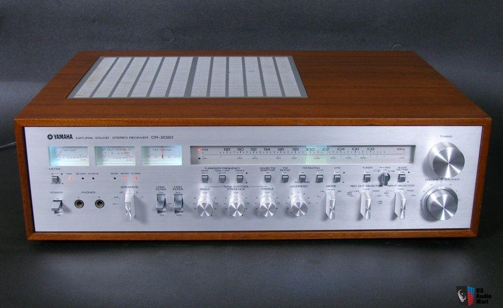 Sold Yamaha Cr 2020 Vintage Monster Receiver Yamaha Audio Yamaha Hifi Audio