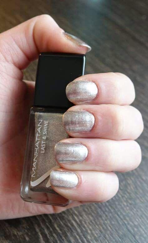 Nails Manhattan#Last&Shine#410 Heart of Stone#Intense colour#Gel ...
