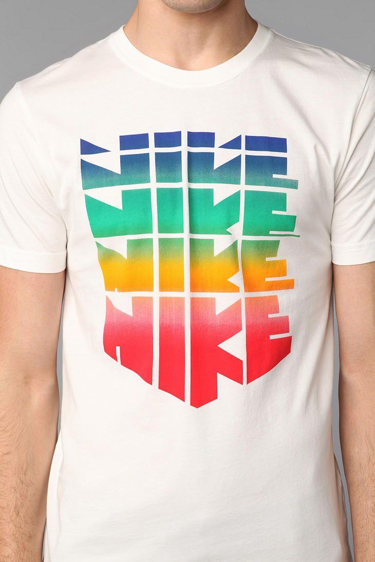 Urban Outfitters Vintage Nike Logo Tees Mens Tops