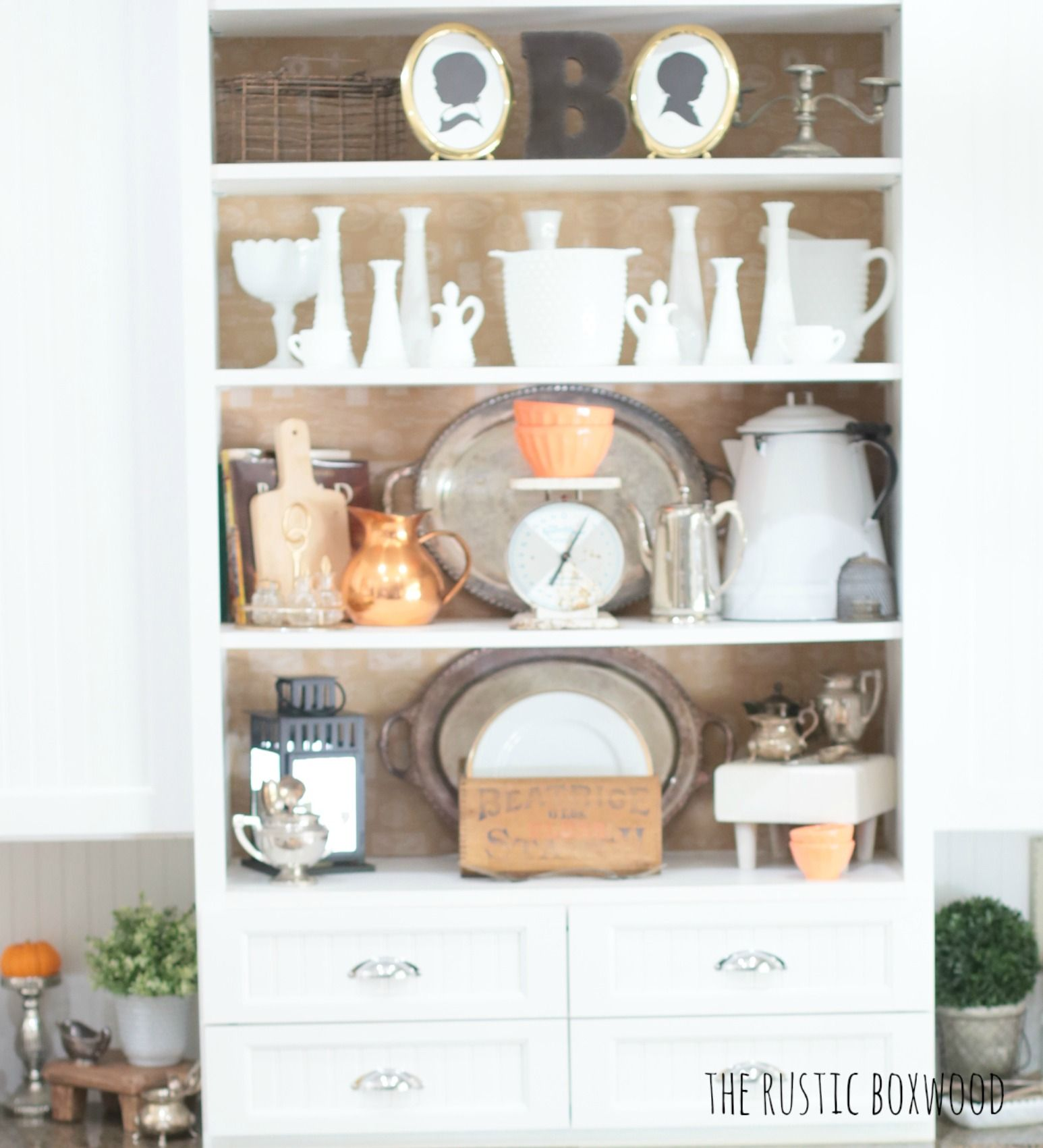 Decorating For Fall Filling Your Home With Vintage And Thrifted Finds