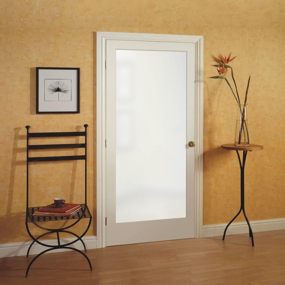 Masonite 36 in x 80 in sandblast full lite solid core primed mdf masonite 36 in sandblast full lite solid core primed mdf interior door slab with privacy glass planetlyrics Image collections
