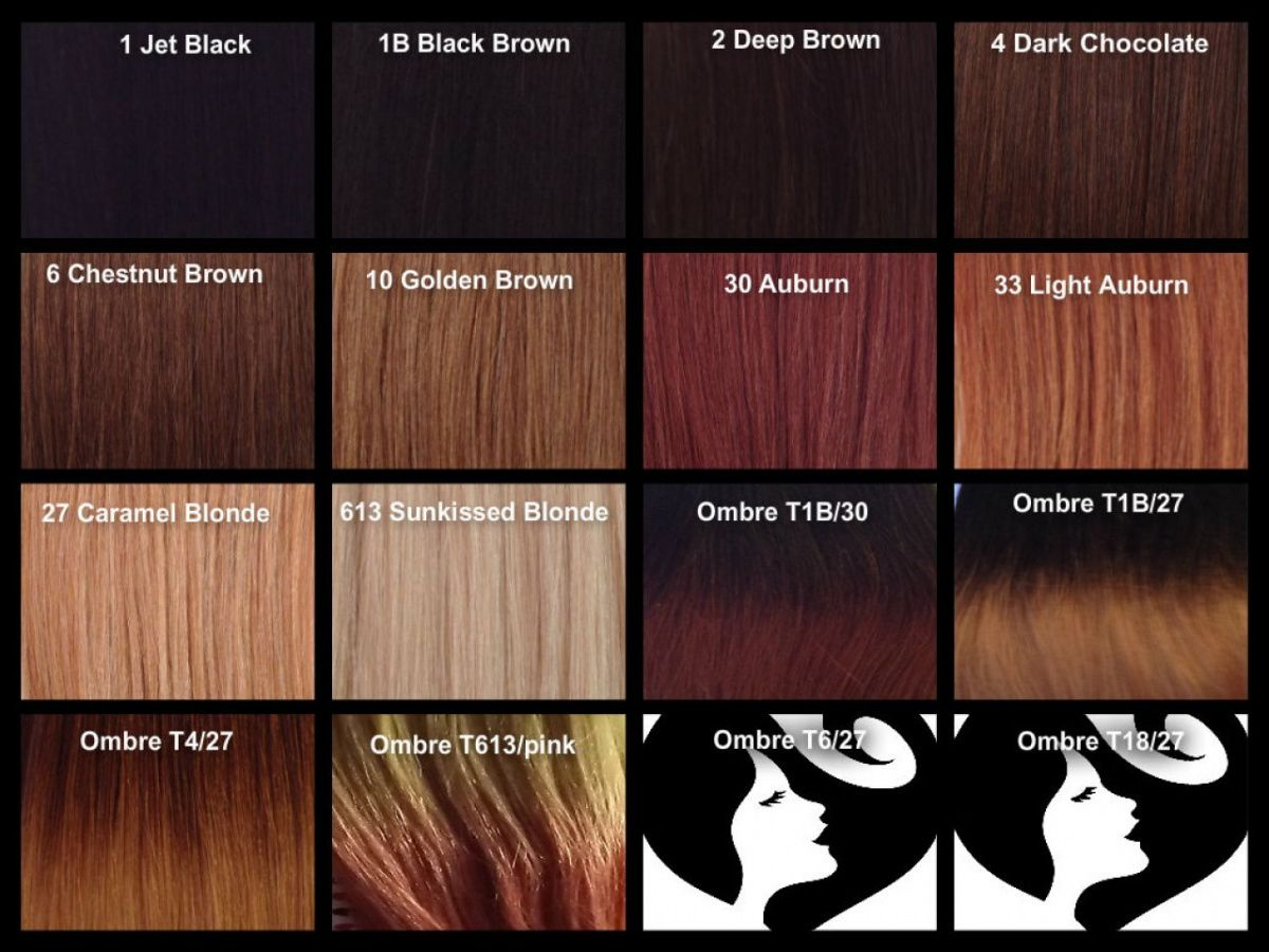 Dark Auburn Hair Color Chart  Best Hair Color To Cover Gray At