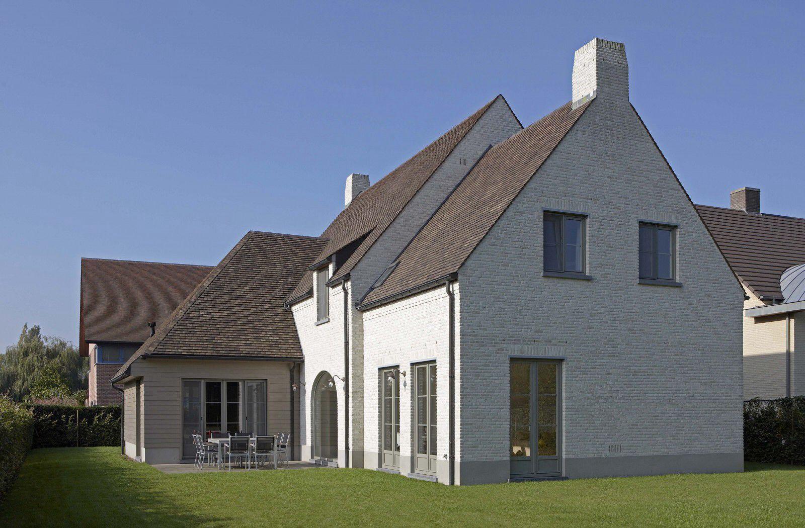 Ontwerp dumobil villabouw kempische en pastorijstijl pinterest ontwerp witte huizen en - Ontwerp buitenkant ontwerp ...