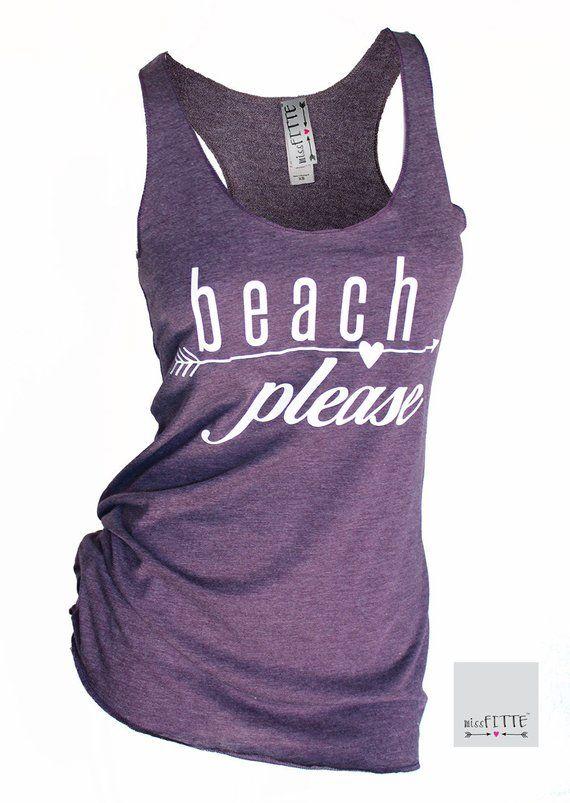 beach please. summer tank top. womens tank top. beach clothes. bathing suit cover  up. racerback tank 3e588ac08