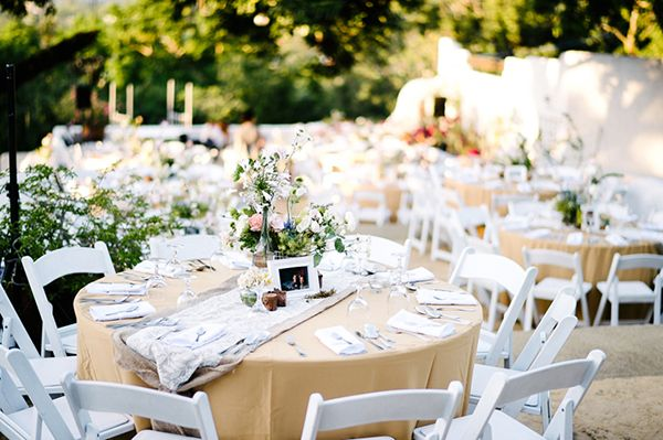 A Beautiful Garden Wedding With Light And Airy Setup