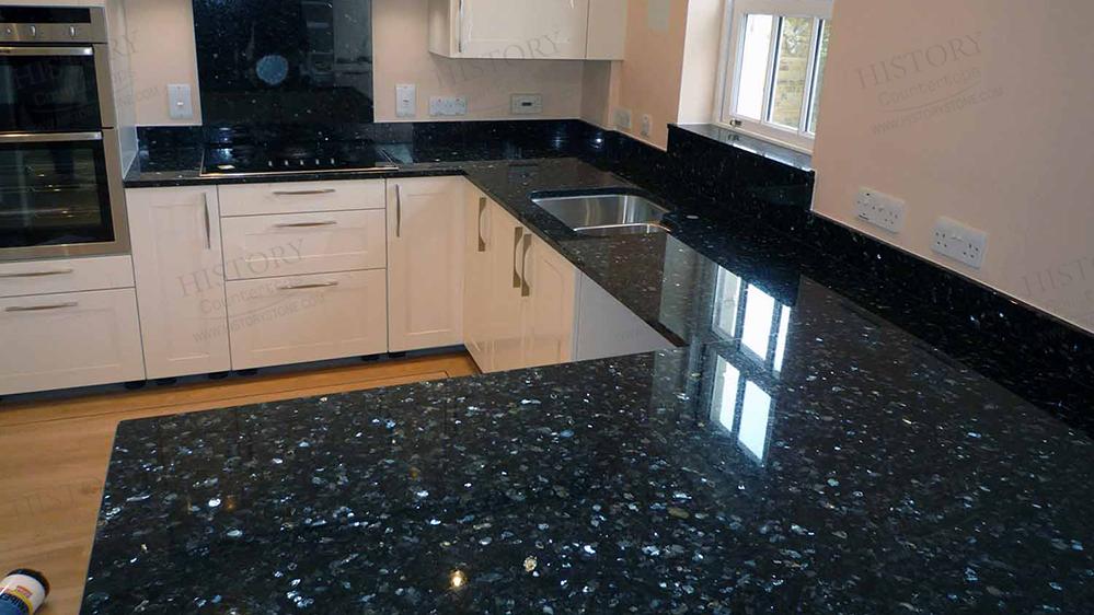 Emerald Pearl Granite Countertops Top Kitchen Countertops Coastal Kitchens Pinterest