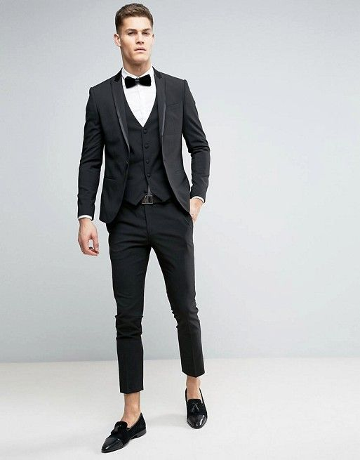 We\'re loving the look of this skinny black tuxedo!   River Island ...