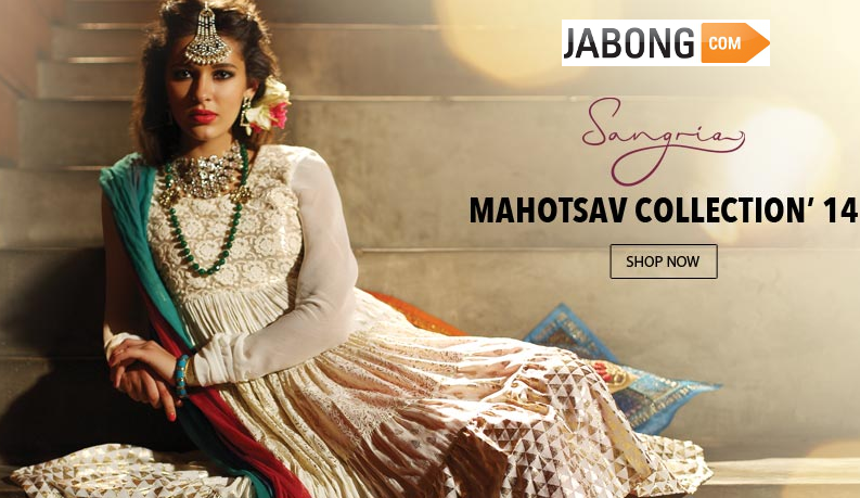 Sangria ready to wear womenswear brand exclusive store at jabong-com. Purchase via dealsncashback.com and get upto 10% cashback from us www.dealsncashback.com/merchants/jabong