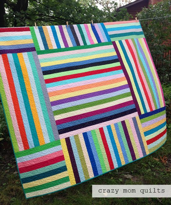 Baby Parachute Quilt  Carwheels Quilt Easy As Pie Economy Block ... : crazy mom quilts - Adamdwight.com