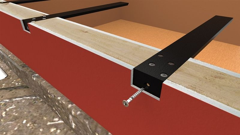 Hidden Countertop Supports And Brackets Standard Plus For