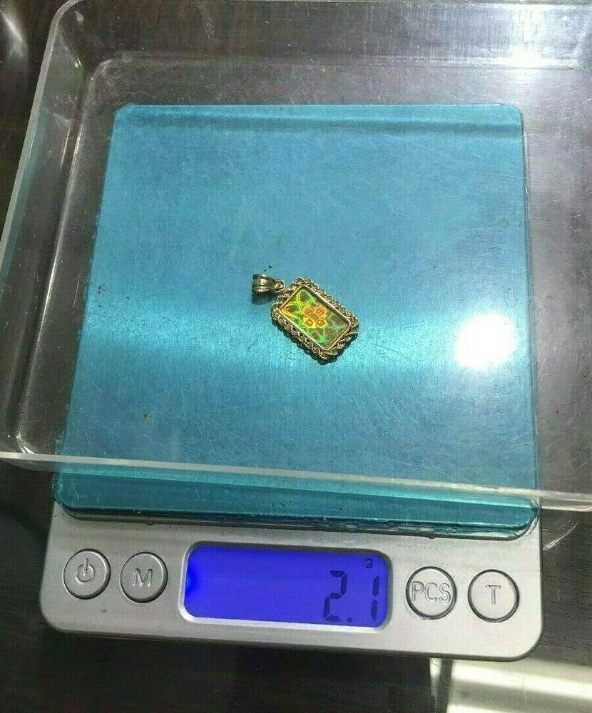 999 9 24k Fine Gold 1 Gram Ubs Gold Bar 14k Gold Bezel Pendant Pendant Bezel Pendant Gold Bar Bar Pendant