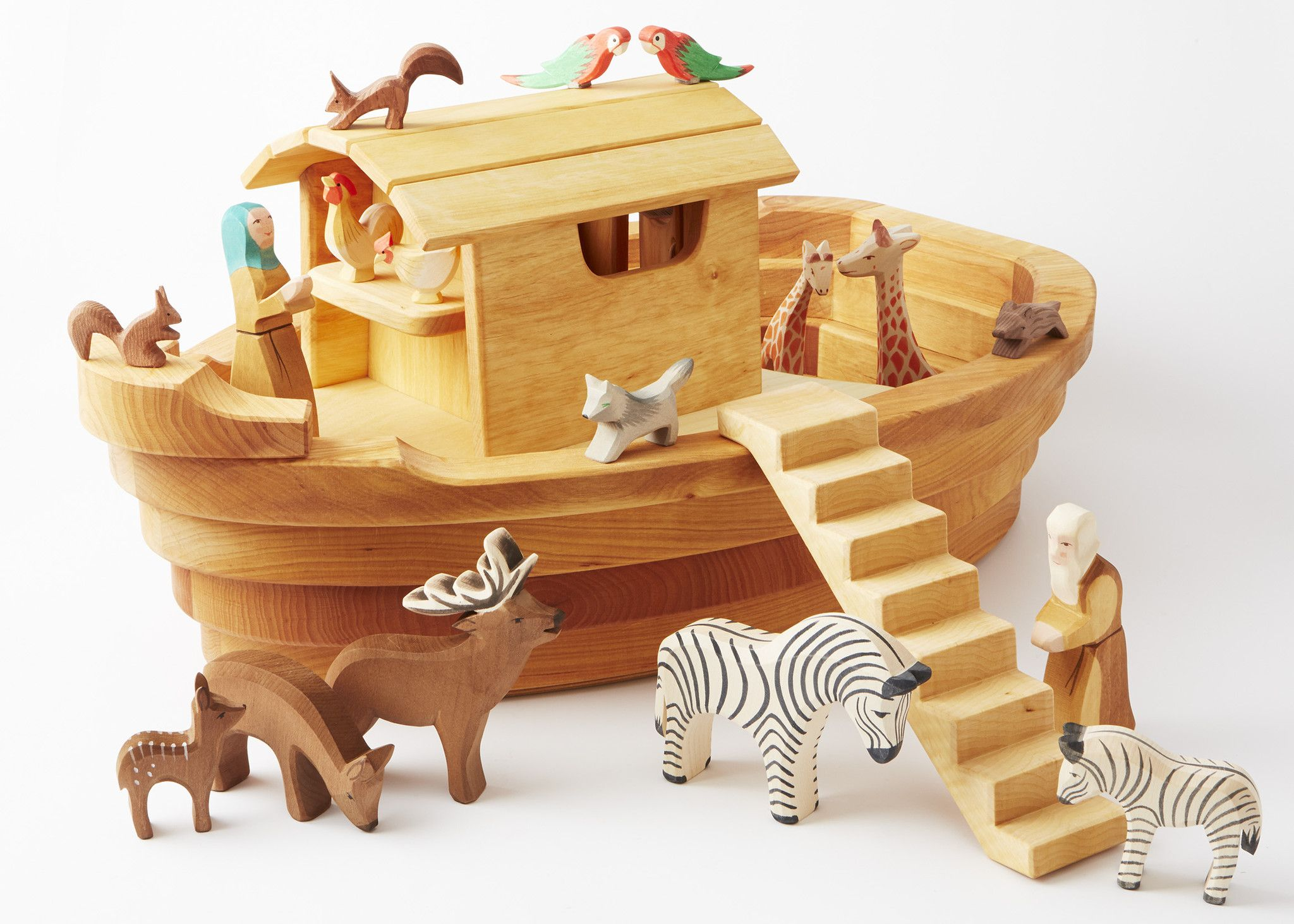 Ostheimer wooden animal toys are hand crafted specially for
