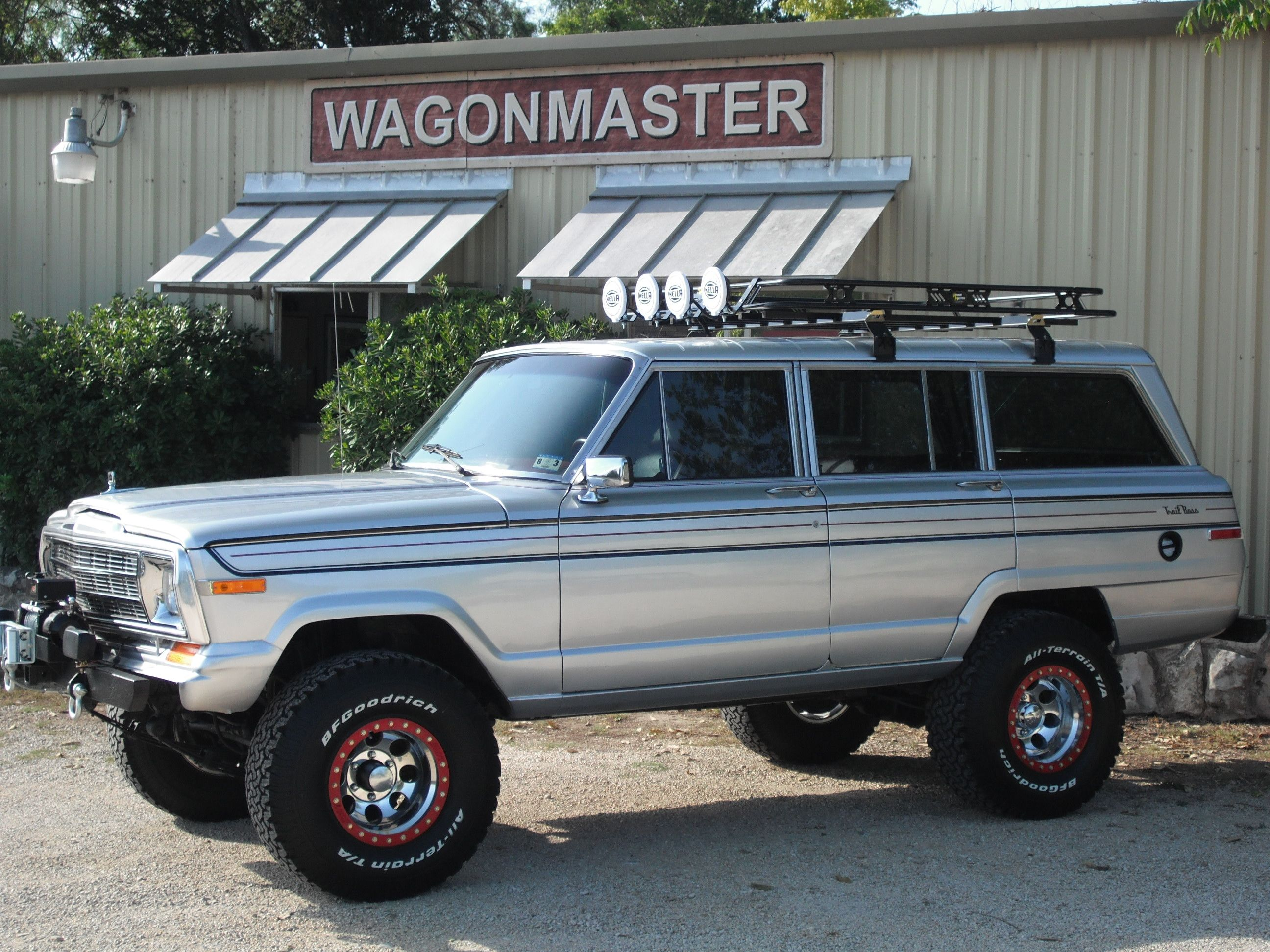 Prototype For New Line Aptly Named Trail Boss Jeep Wagoneer Jeep Vintage Jeep