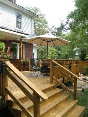 Best Building Deck Stair Handrails Outdoor Stair Railing 400 x 300