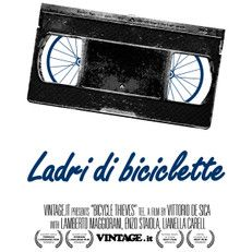 Ladri di biciclette (Bicycle thieves) t shirt - VHS movies Collection - Vintage t shirts