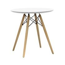 Replica Eames Eiffel Wood Leg Table 70cm Mason Guest Bedroom