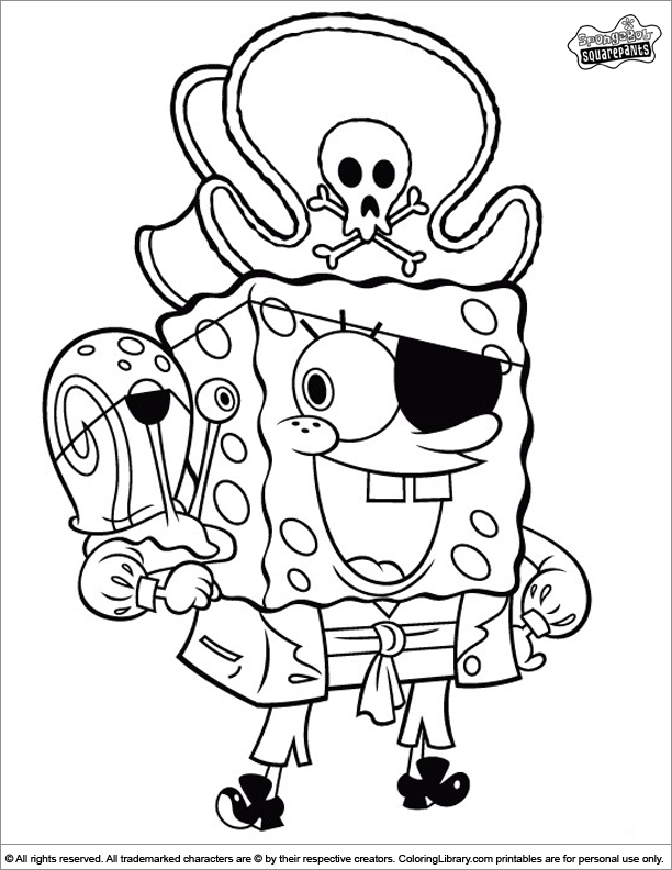 SpongeBob coloring page | Coloring pages | Pinterest | Color wheels ...
