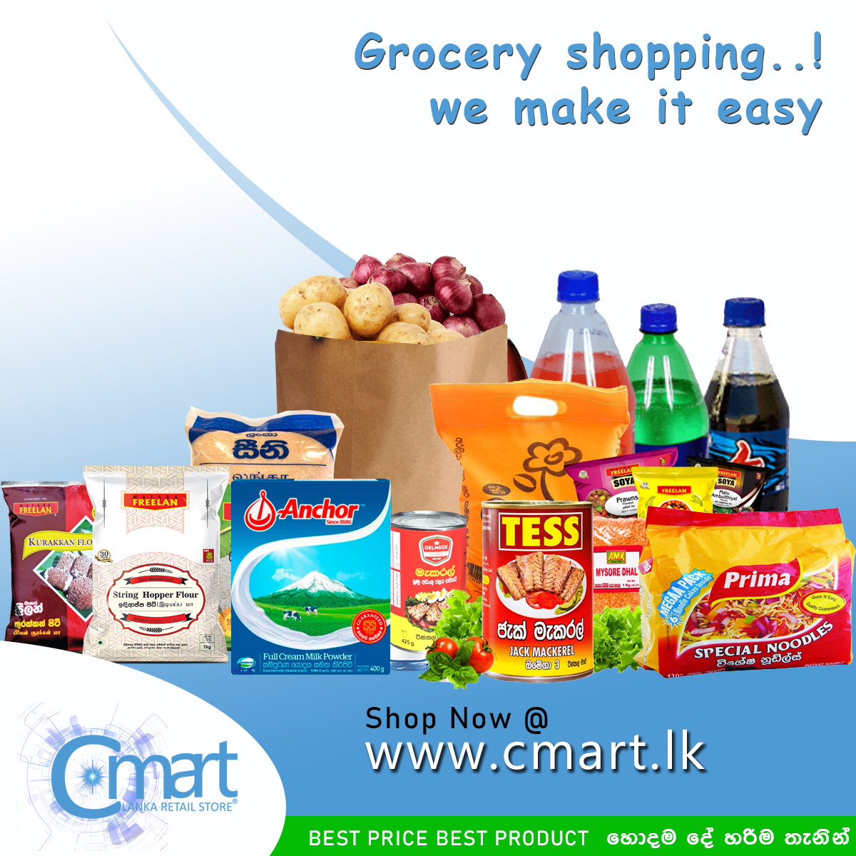 Grocery Shopping We Make It Easy In 2021 Grocery Grocery Online Grocery Store