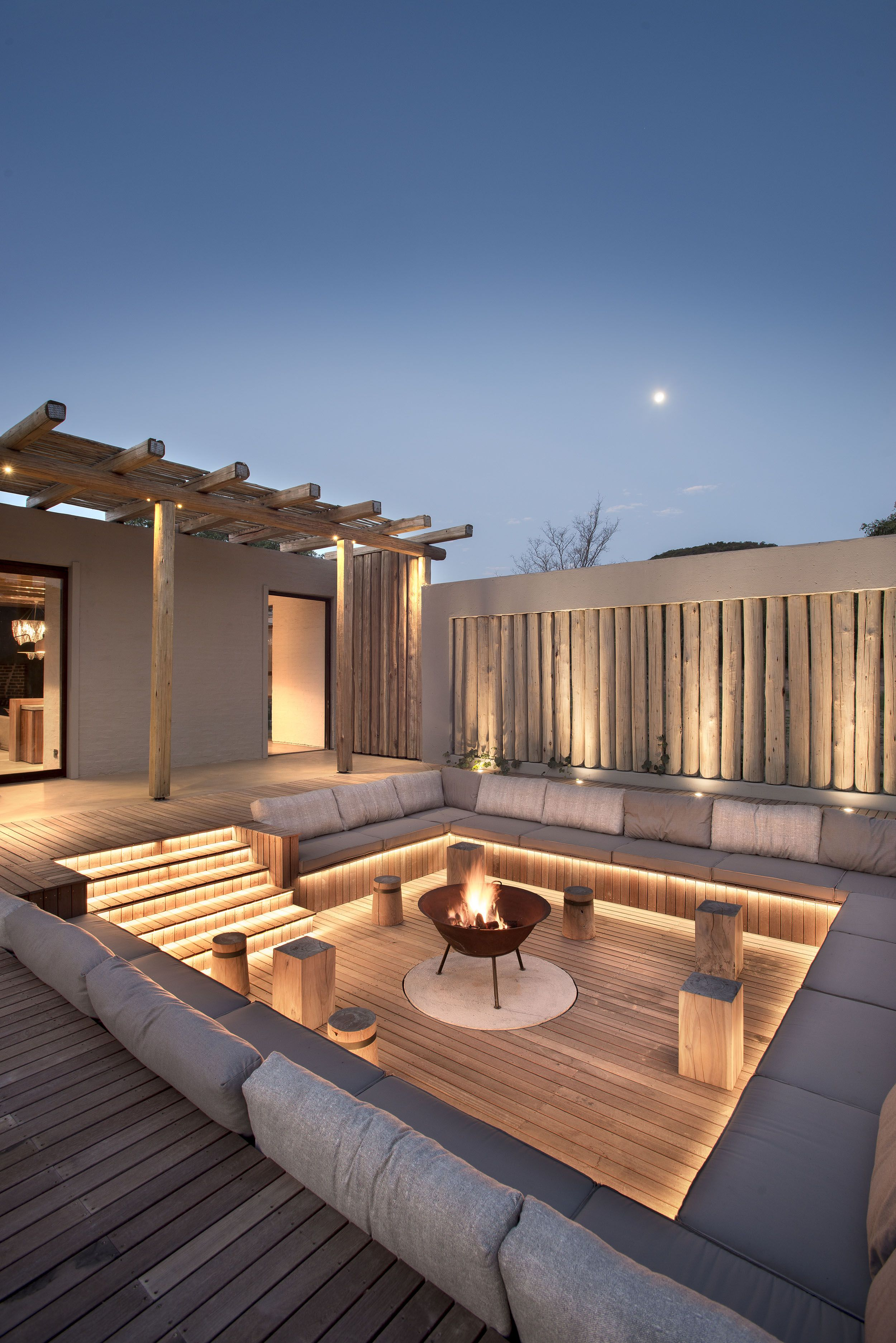 Private Bush Home Waterberg South Africa Fox Browne Creative In 2020 Backyard Patio Designs Rooftop Design Patio Design