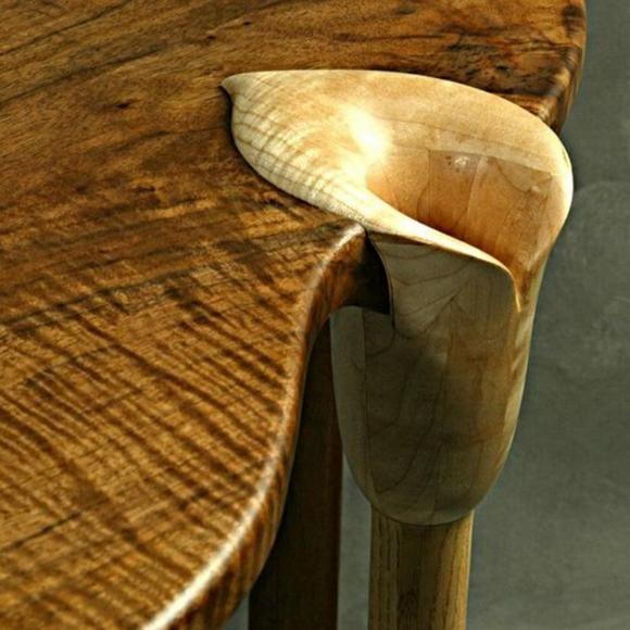 Custom Sofa Portland Oregon: Custom Made, Calla Lily Table By Scott Stewart Of Scott