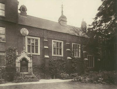 Staple Inn, The Hall, 1885. This photograph was commissioned by the Society for Photographing Relics of Old London to form part of a permane...