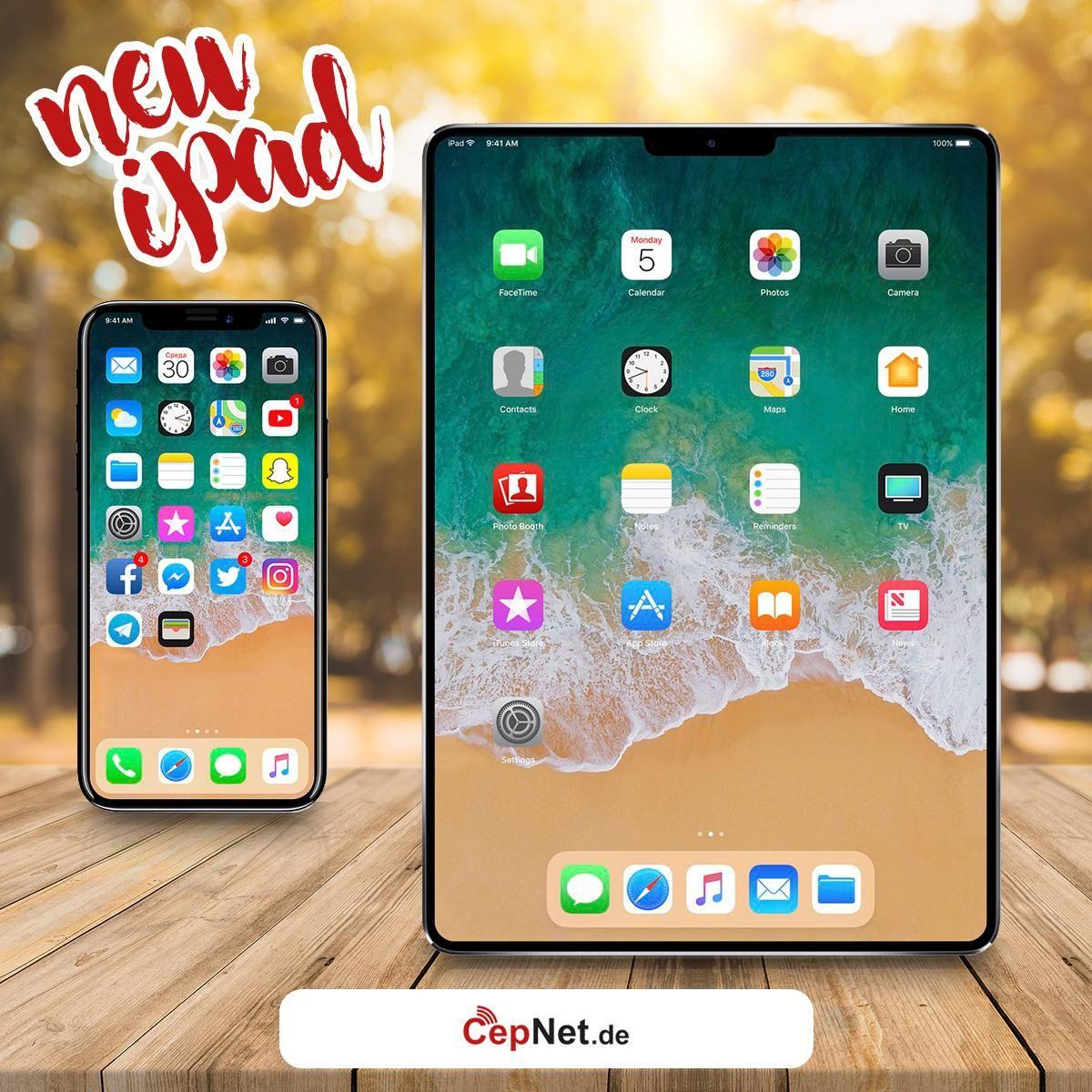 Apple plant für 2018 überarbeitete iPads Seid bereit für diese iPads ...