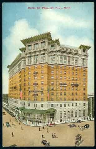 St Paul Hotel 363 Peter 1912