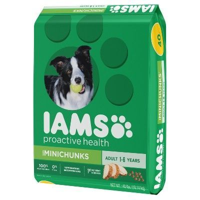 Iams Proactive Health Adult Minichunks Chicken Flavor Dry Dog Food