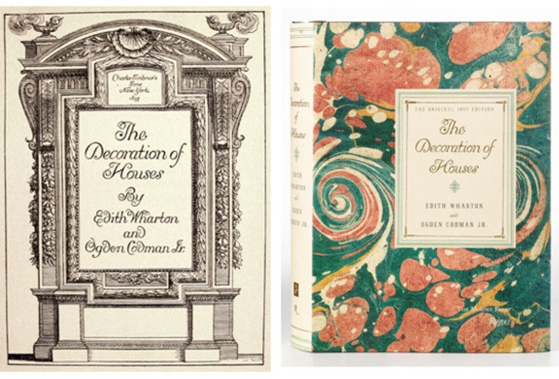 The decoration of houses by edith wharton ogden codman jr books biographies novels history and art pinterest