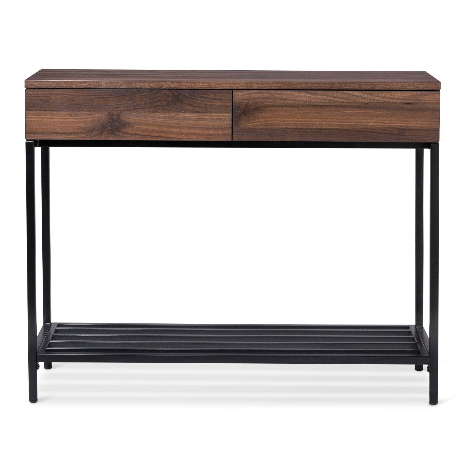 entryway tables and consoles. Darley Console Table Walnut (Brown) - Threshold Entryway Tables And Consoles