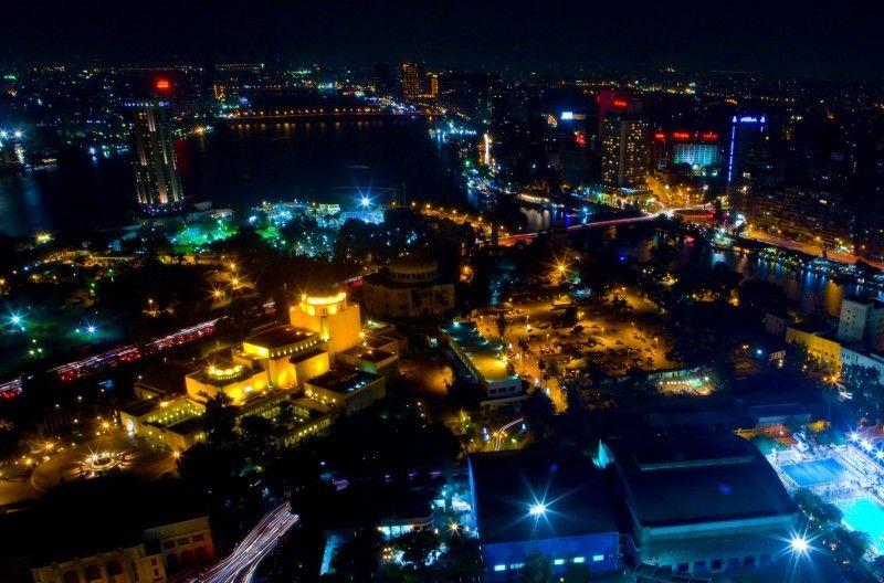Cairo by night. www.Egypte.nl