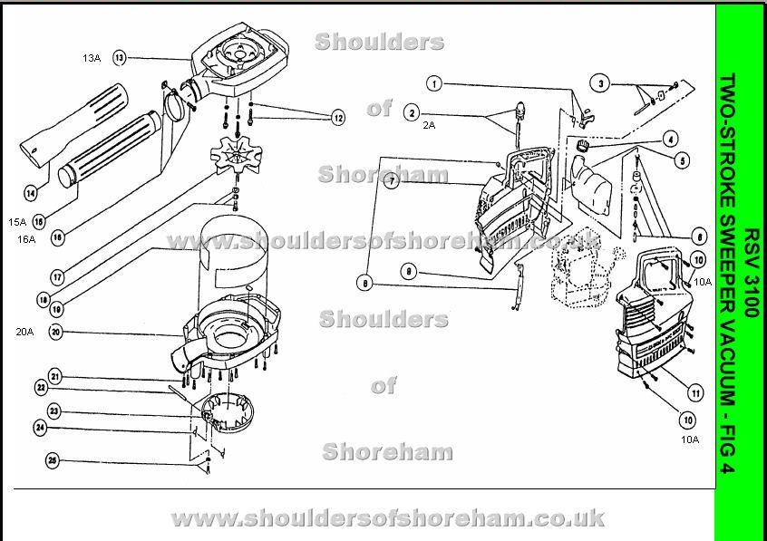 ryobi engine diagram rsv3100 ryobi  spare parts  map  rsv3100 ryobi  spare parts  map