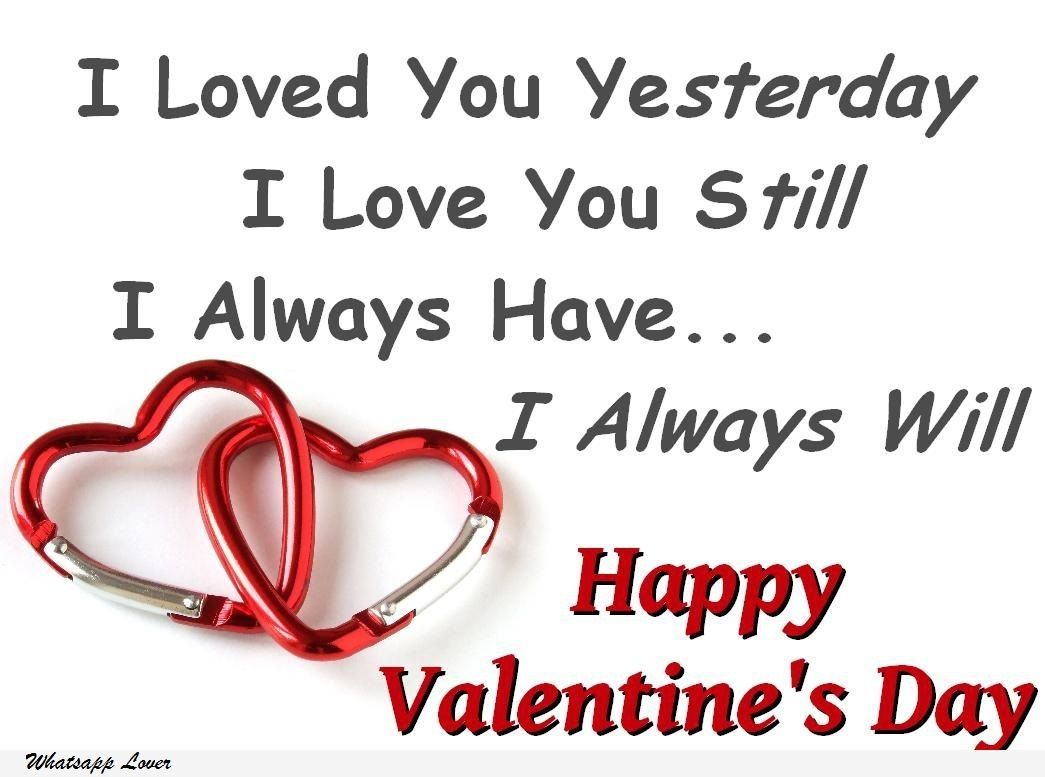Happy Valentine S Day 2016 Whatsapp Status And Facebook Messages