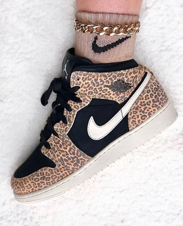 air jordan 1 leopard