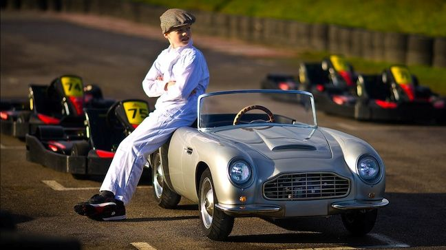 Mini Aston Martin DB Convertible