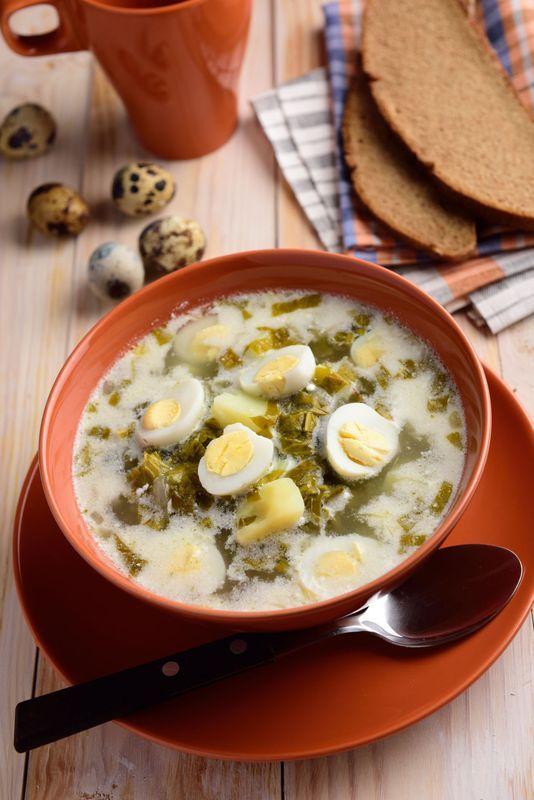 Zupa Szczawiowa Z Jajkiem Strona 4 Food Cooking Yummy Food