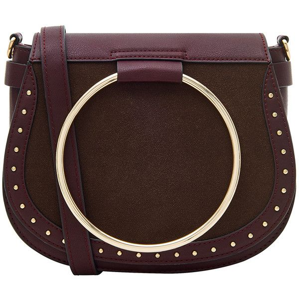 f124953ed888 Accessorize Metal Ring Saddle Cross Body Bag (275 DKK) ❤ liked on Polyvore  featuring