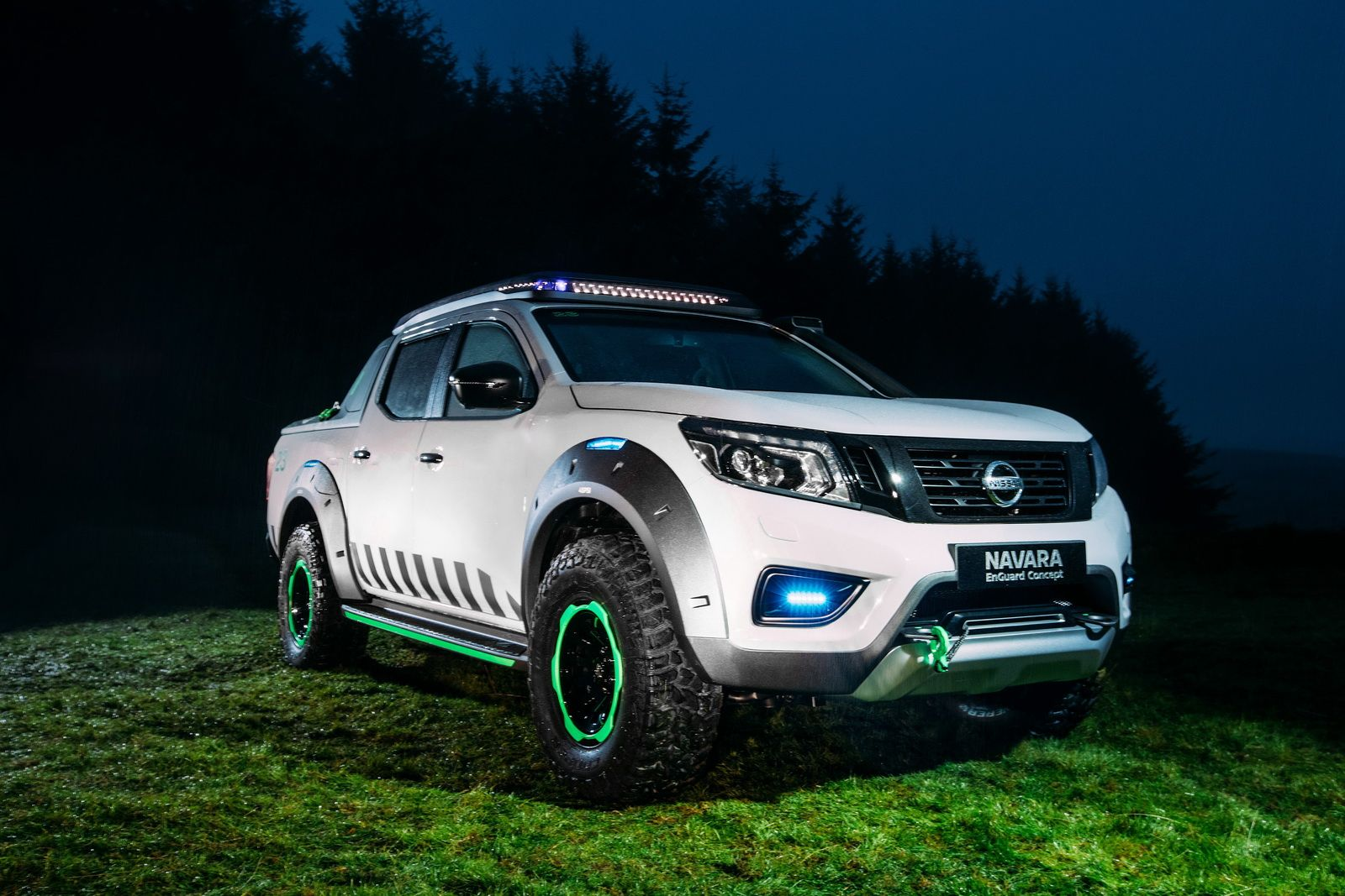 Nissan has officially unveiled the new navara enguard concept during the 2016 iaa commercial vehicle show in hanover