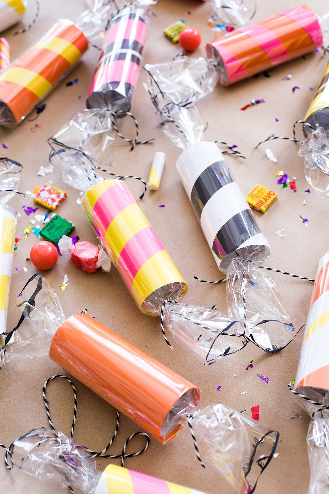 Diy Toilet Paper Roll Candy Garland Toilet Paper Crafts Paper Roll Crafts Toilet Paper Roll Crafts