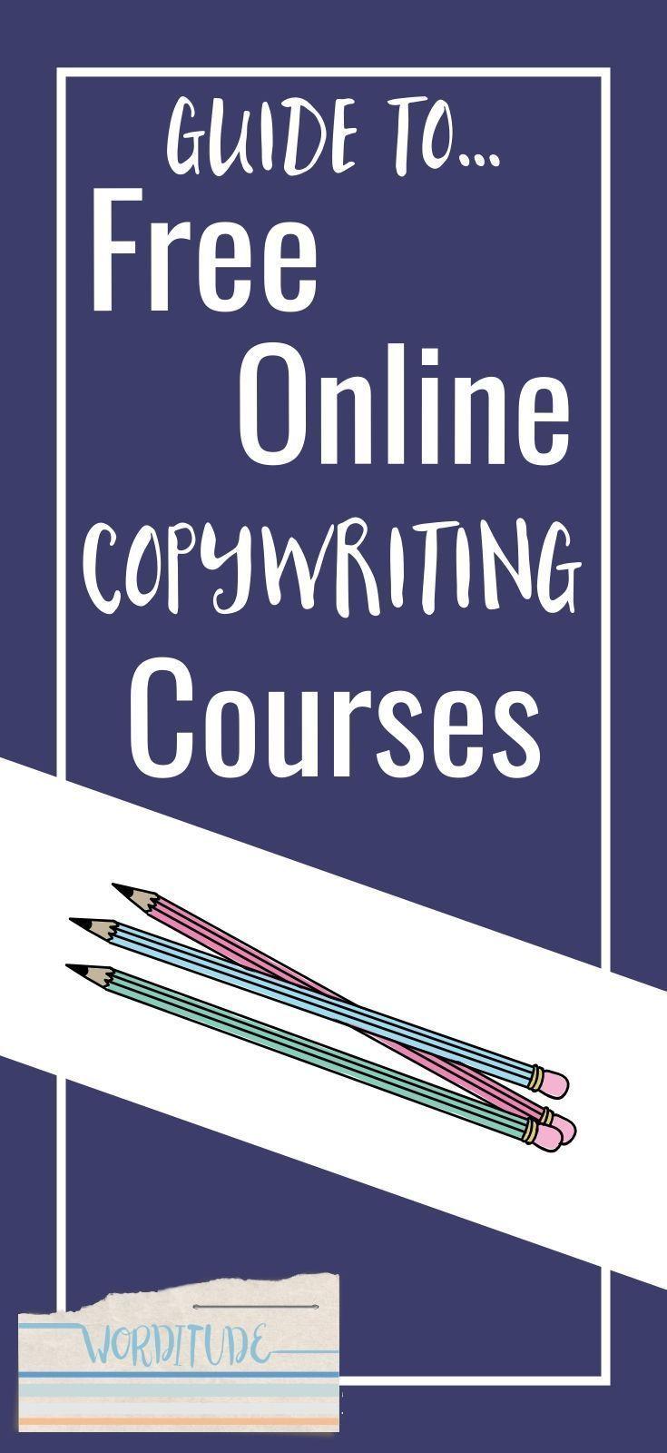 Free copywriting courses for freelance copywriters