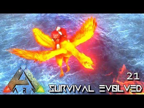 nice ARK SURVIVAL EVOLVED - NEW FIREBIRD \ ALPHA DOEDIC TAMING - new blueprint ark survival