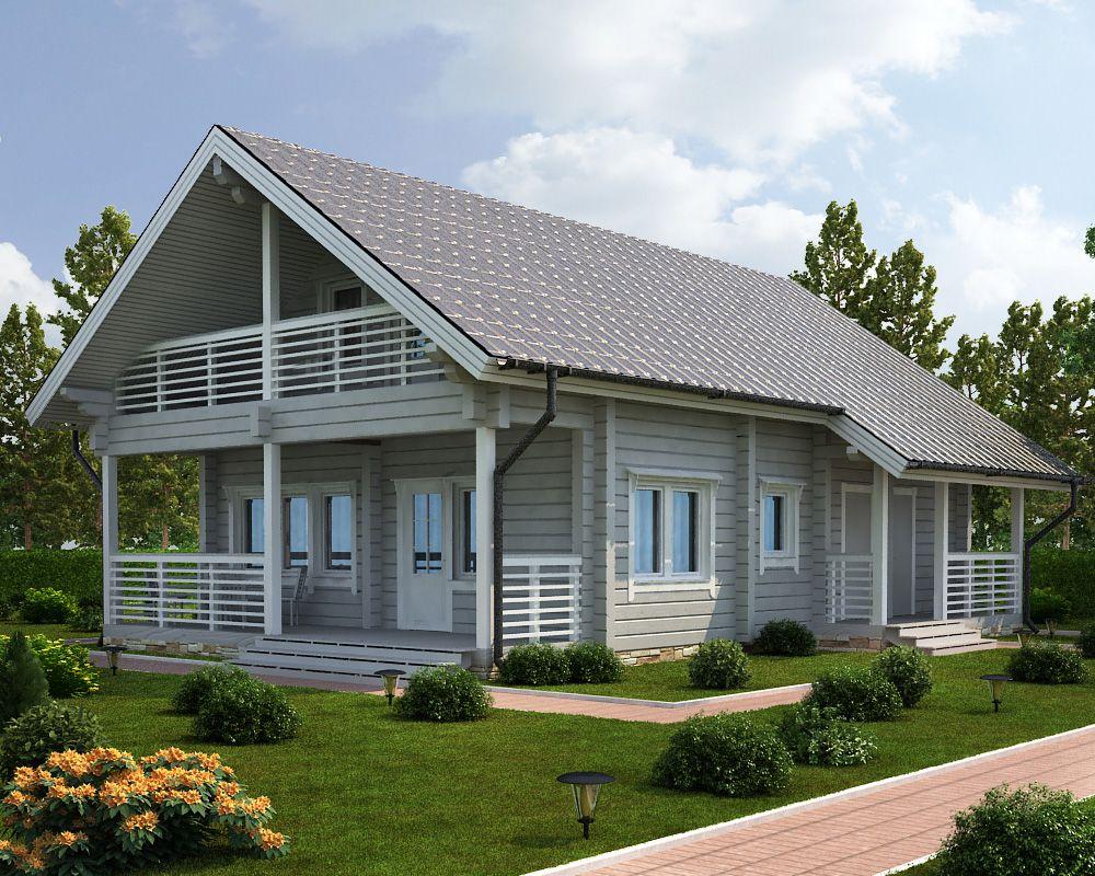 Финские дома из клееного бруса, строительство под ключ ...