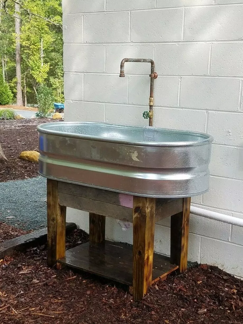 Outdoor Kitchen Sink Without Plumbing