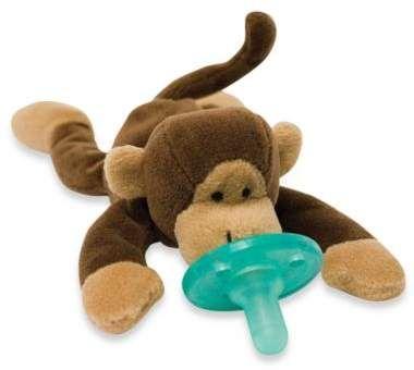 Wubbanubtm Monkey Infant Pacifier Emma Paige Hornick
