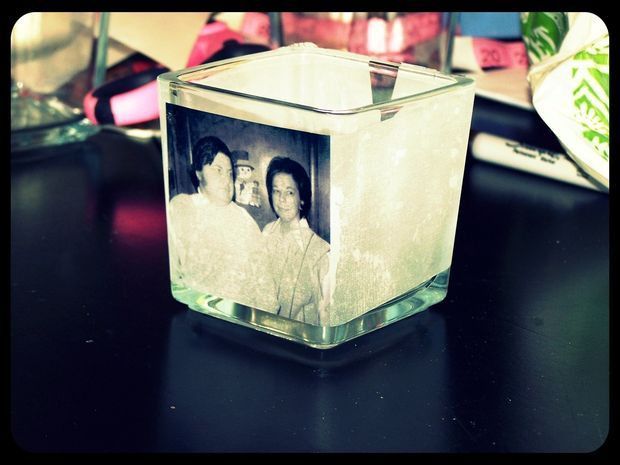 Picture of Easy Photo Candle Holders
