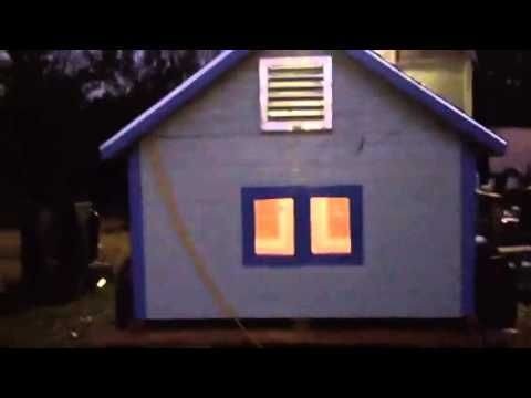 Air Conditioned Dog House Youtube Dog House With Ac Air