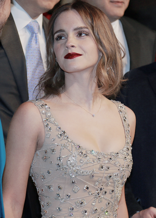"""Emma Watson at the """"Beauty and the Beast"""" Premiere in Shanghai, China (02.27.17)"""
