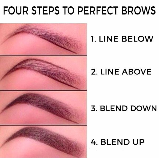 Photo of Beautifully shaped brows immediately up your makeup game: | 17 Ways To Trick People Into Thinking Youre Good At Makeup